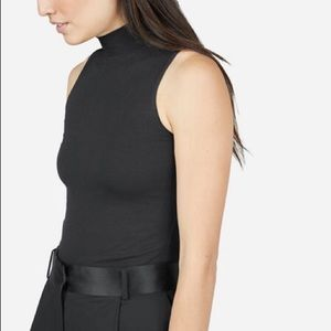 Brand New Everlane Stretch Sleeveless Turtleneck